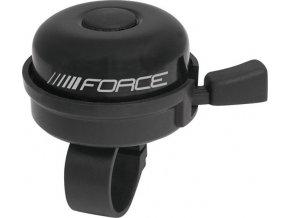 zvonek FORCE KLASIK Fe/plast 22,2mm, černý
