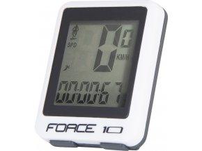 počítač FORCE 10 funkcí drát, bílý
