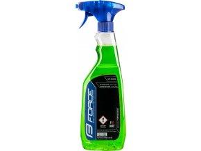 čistič FORCE E-BIKE rozprašovač 750 ml - zelený