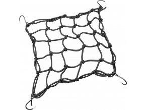 gumicuk upínací síť, 25 x 25 cm, černý