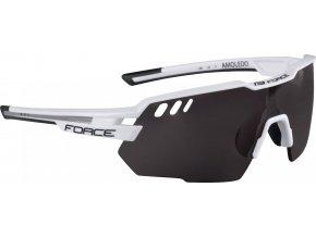 brýle FORCE AMOLEDO, bílo-šedé, černé skla