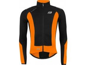 bunda/dres FORCE dlouhý rukáv X68,černo-oranž.
