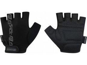 rukavice FORCE KID dětské, černé