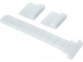 páska upínací- náhradní do přesky na tretry, bílá