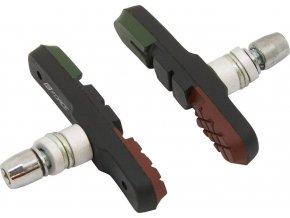 gumičky brzd F jednorázové, zeleno-črn-hnědé 70mm