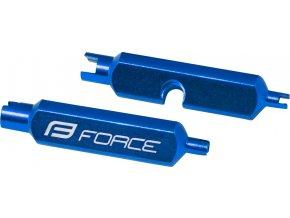 klíč FORCE na vložky AV/FV ventilků, hliníkový