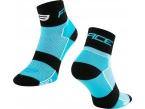ponožky FORCE SPORT 3, modro-černé
