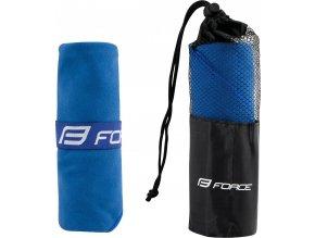 ručník FORCE cestovní 40 x 80 cm mini, modrý