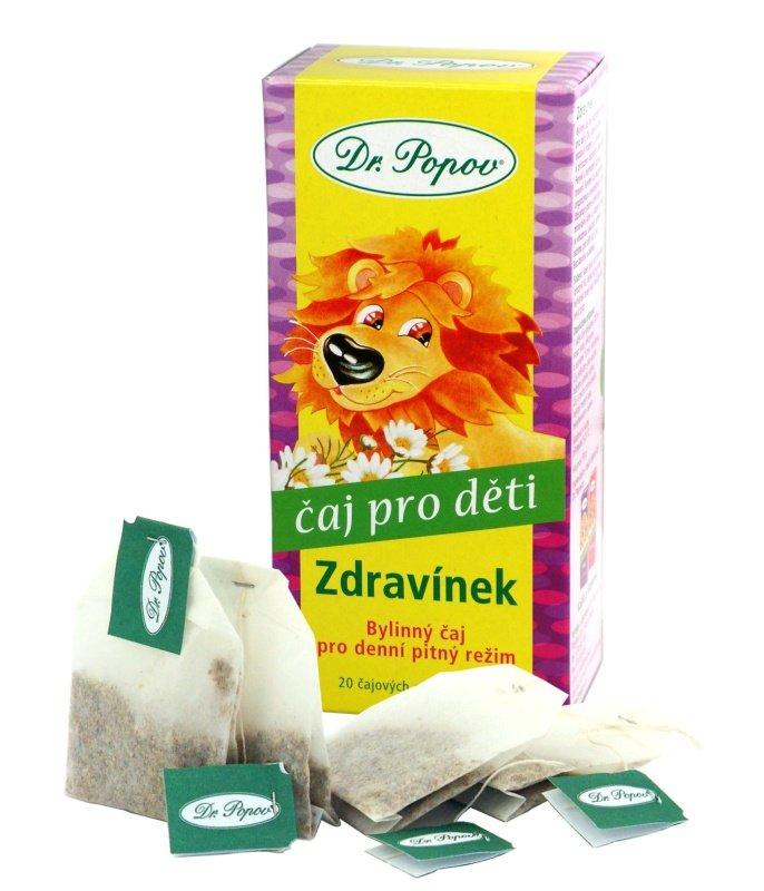 Dětský bylinný čaj Zdravínek, 30 g