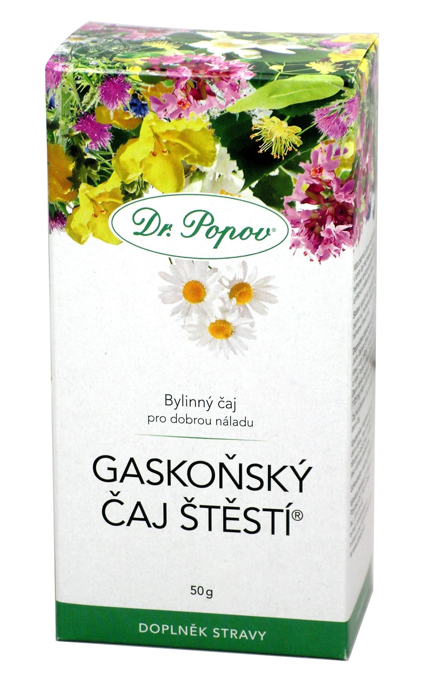 Gaskoňský čaj štěstí ® Varianta: Sypaný (50g)