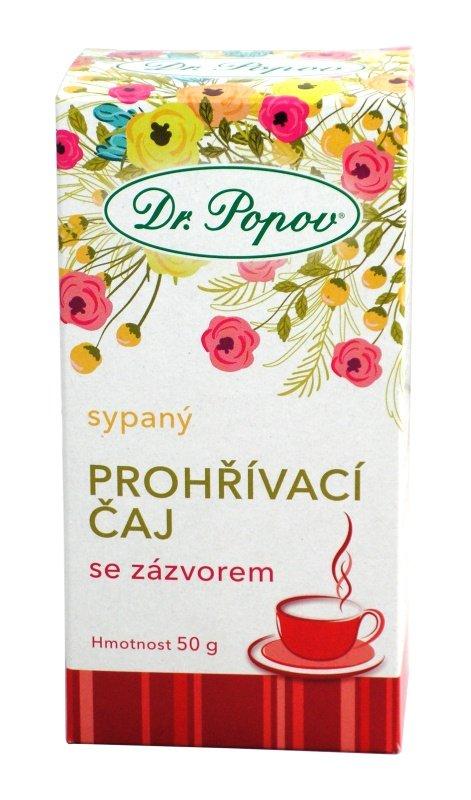 Čaj Prohřívací se zázvorem Varianta: Sypaný (50g)