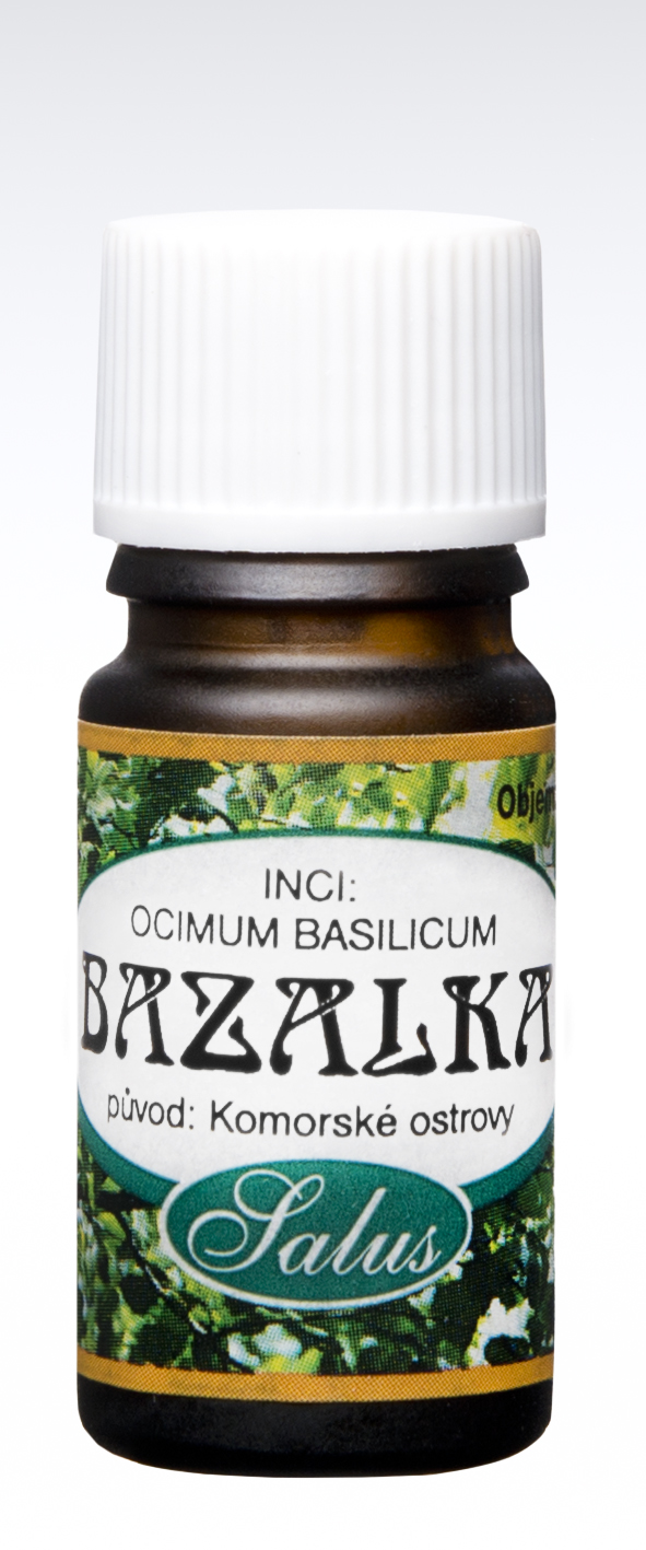 Esenciální olej BAZALKA Objem: 20 ml