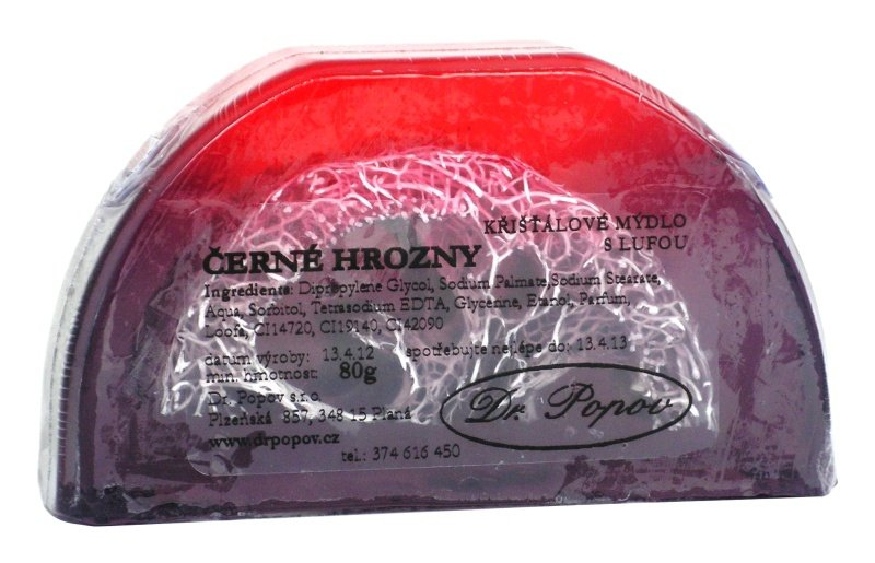 Mýdlo Lufa - černé hrozny, 100 g