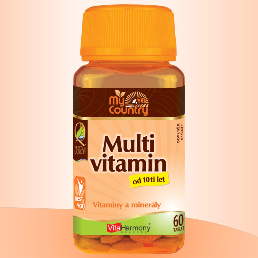 My Country - Multivitamin od 10 let - 60 tbl.