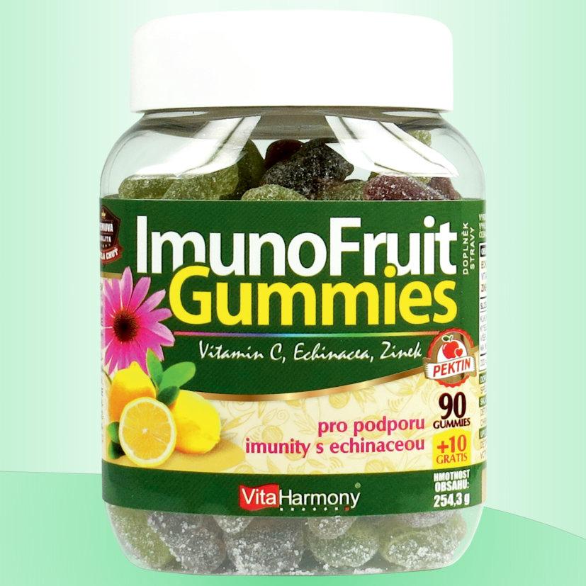 ImunoFruit Gummies - 90+10 gummies