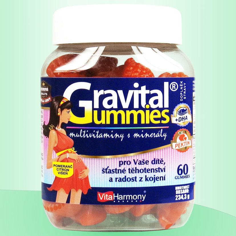Gravital® Gummies Množství: 60 gummies