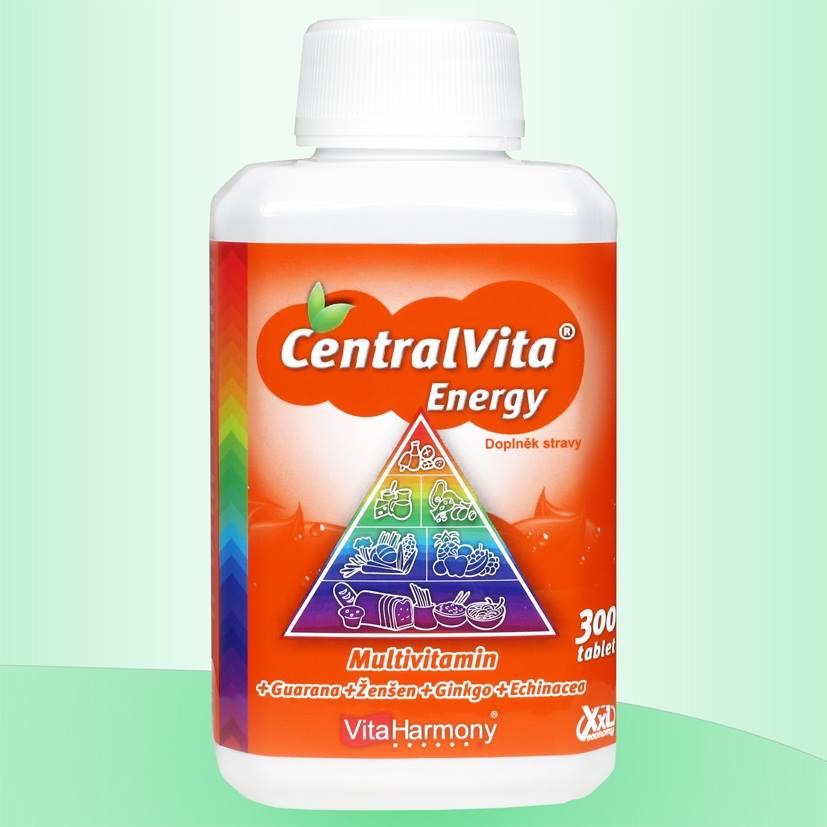 CentralVita Energy® - multivitaminy pro dospělé Množství: 300 tablet