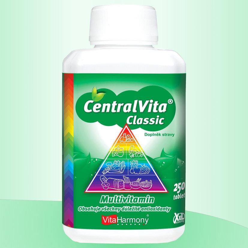 CentralVita® Classic - multivitaminy Množství: 250 tablet