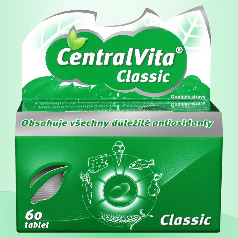 CentralVita® Classic - multivitaminy Množství: 60 tablet