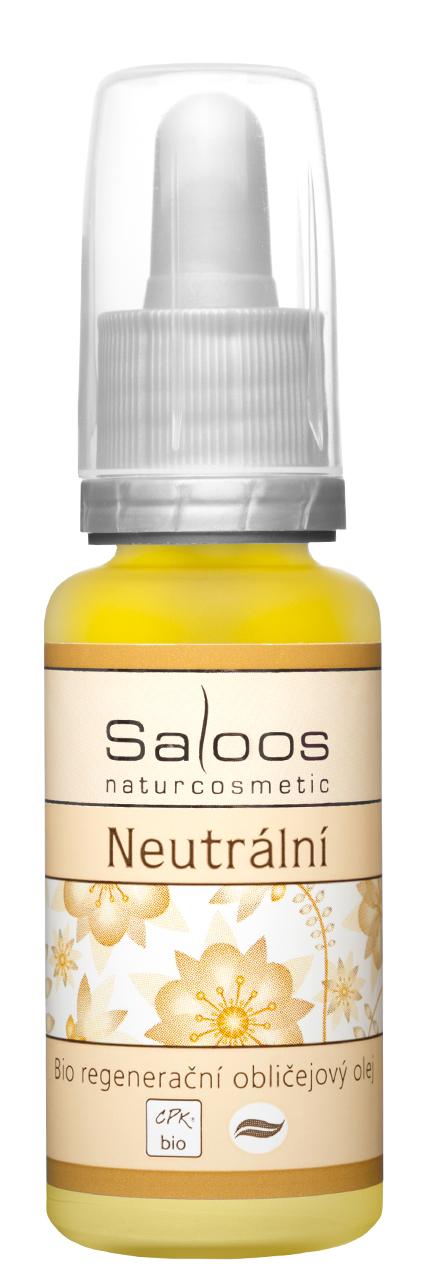 Bio regenerační obličejový olej Neutrální Objem: 20 ml