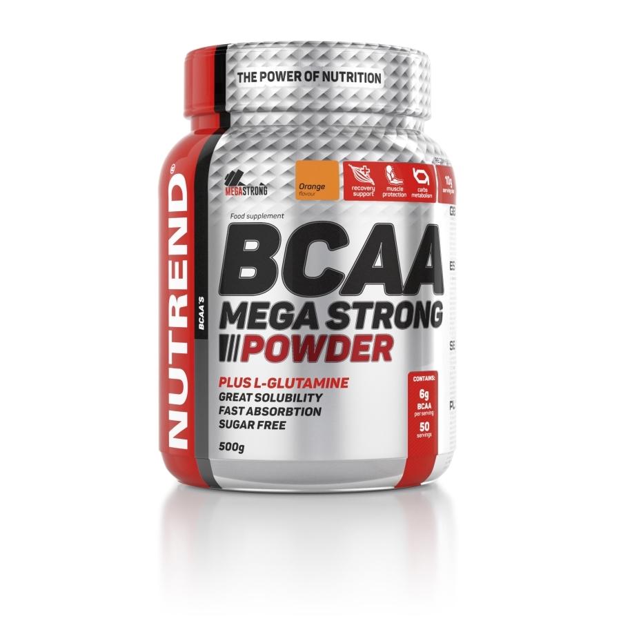 BCAA MEGA STRONG POWDER Hmotnost: 500g, Příchuť: ananas