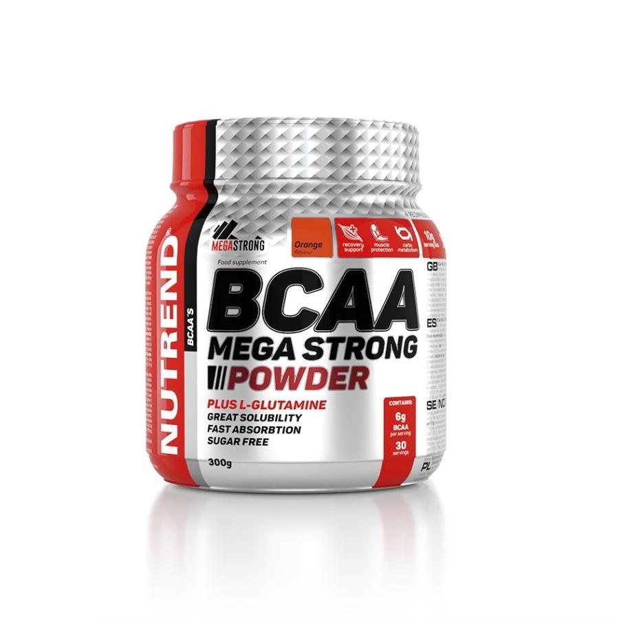 BCAA MEGA STRONG POWDER Hmotnost: 300g, Příchuť: pomeranč