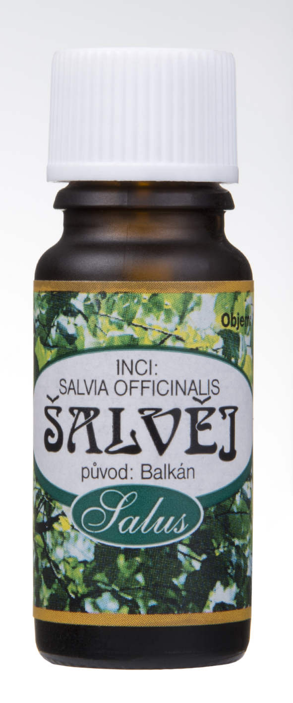 Esenciální olej Šalvěj Objem: 20 ml