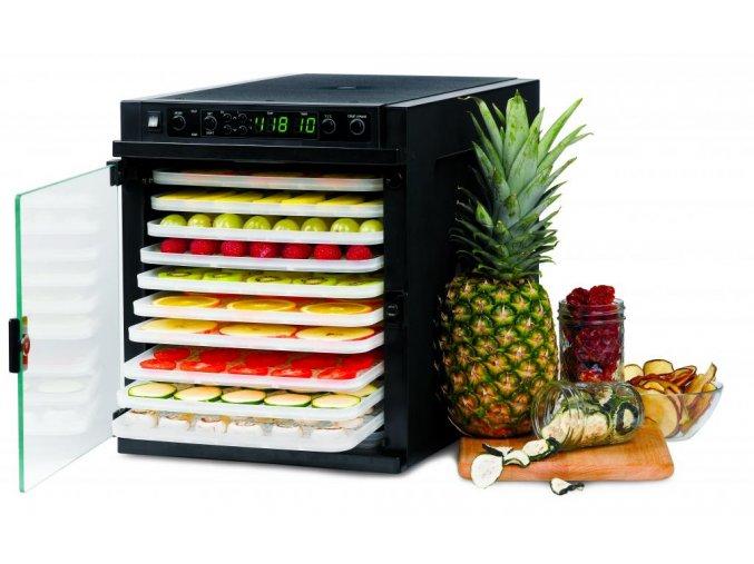 Sušička na ovoce Sedona Express SD-6280 s plastovými tácy