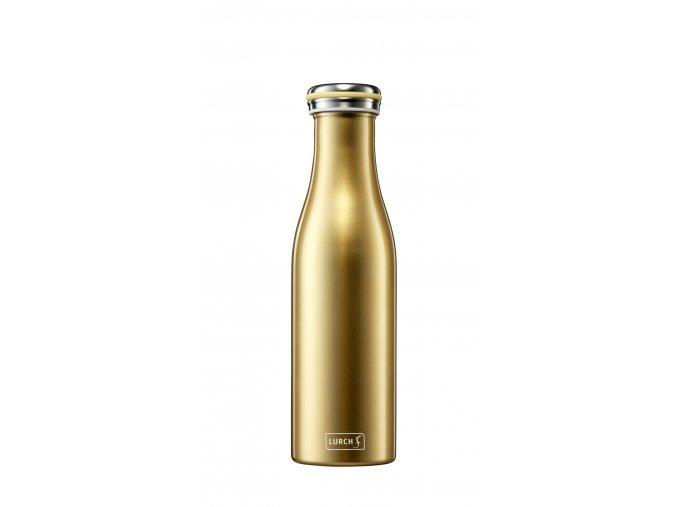 traminal trendy termo lahev 05 gold metallic