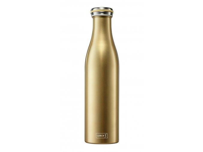 traminal trendy termo lahev 075 gold metallic