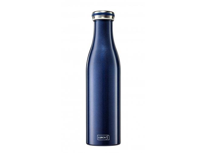 traminal trendy termo lahev 075 blau metallic