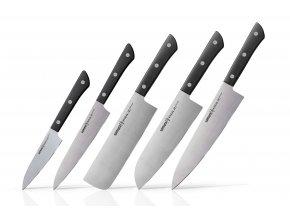 Samura HARAKIRI Sada 5 nožů (černá) (SHR-0250B)