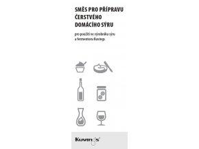 Směs pro přípravu čerstvého domácího sýru (6x10g)
