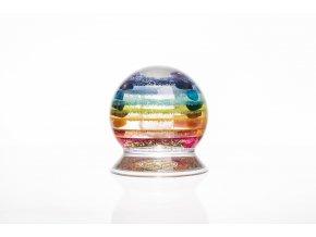 Harmonizační těžítko ViaHuman - rainbow pure 90mm