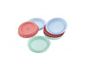 RS1889 83016 Flexiform Tortelett 6er Set Pastel Mix Freisteller 1251