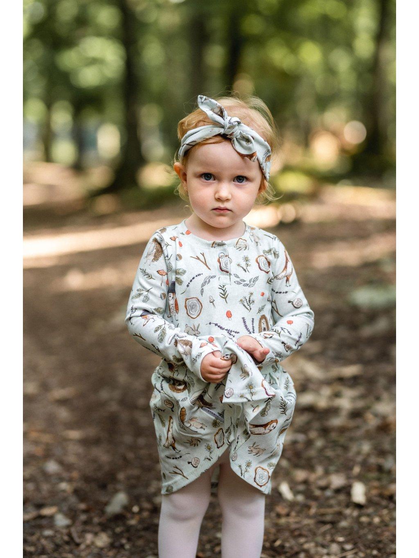 Dětské šaty šité v České republice