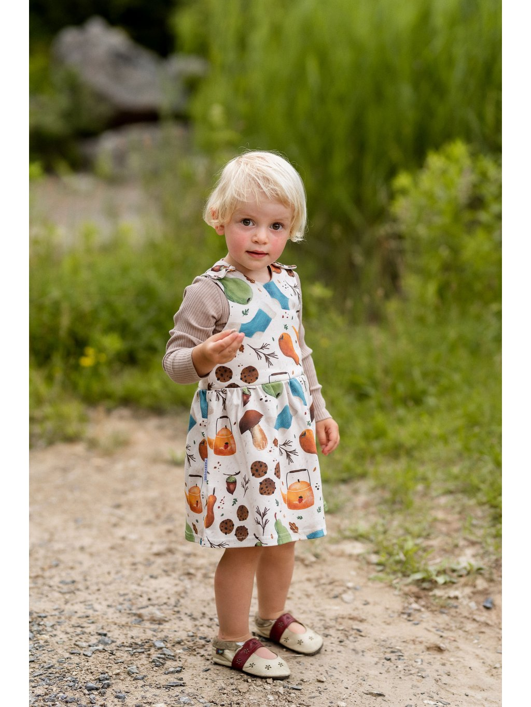 Dětské šaty z organické bavlny