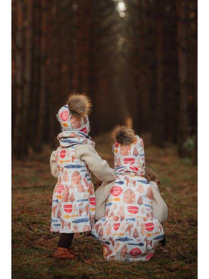 Dětské šaty na traky Bakery shop