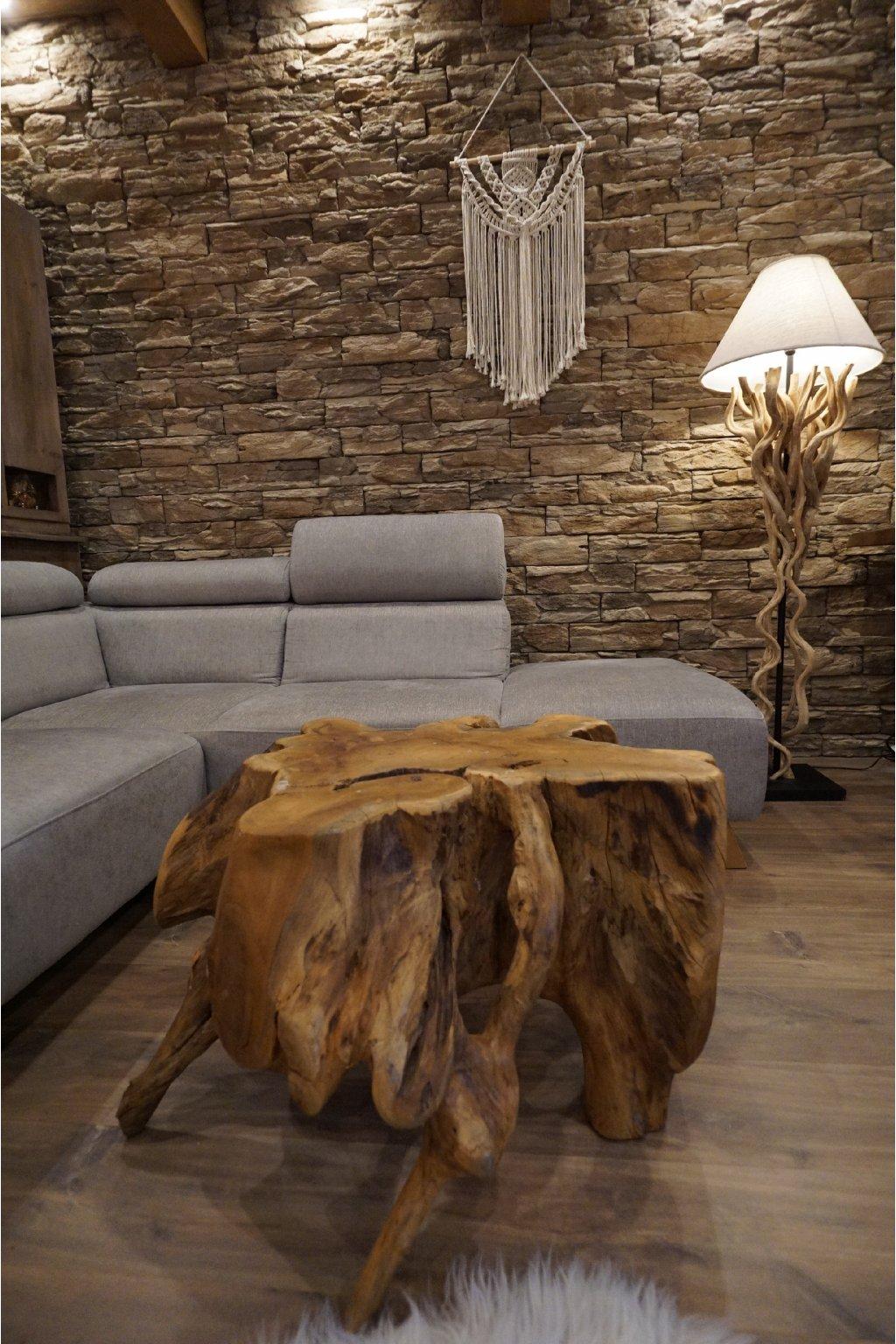 Exotický stůl TEAK Root