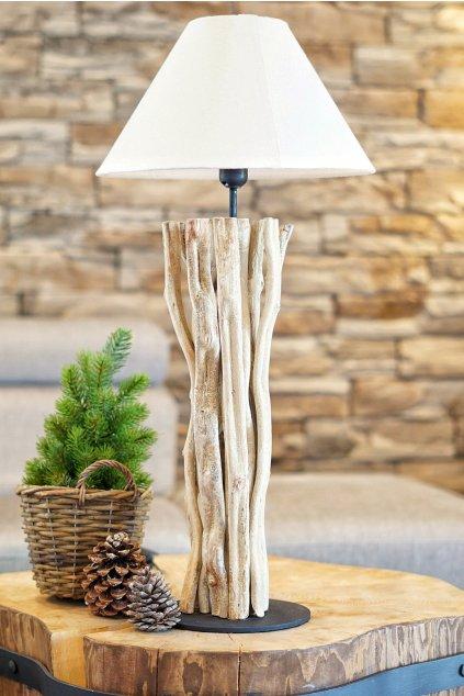 Exotická lampa z lián