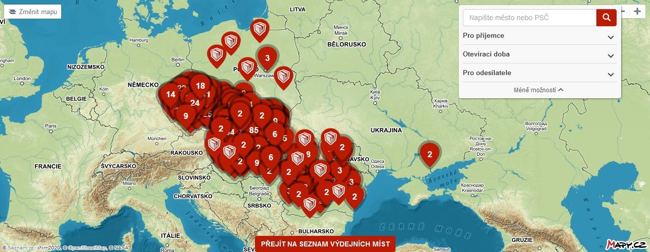 zásilkovna_mapy