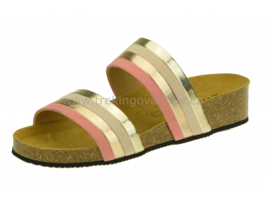 Damske zdravotni pantofle Rega D532 2853681011