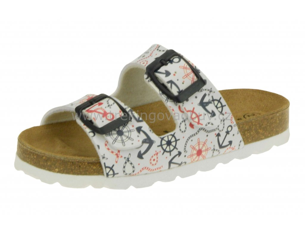 Detske zdravotni pantofle Rega D664 2833712851