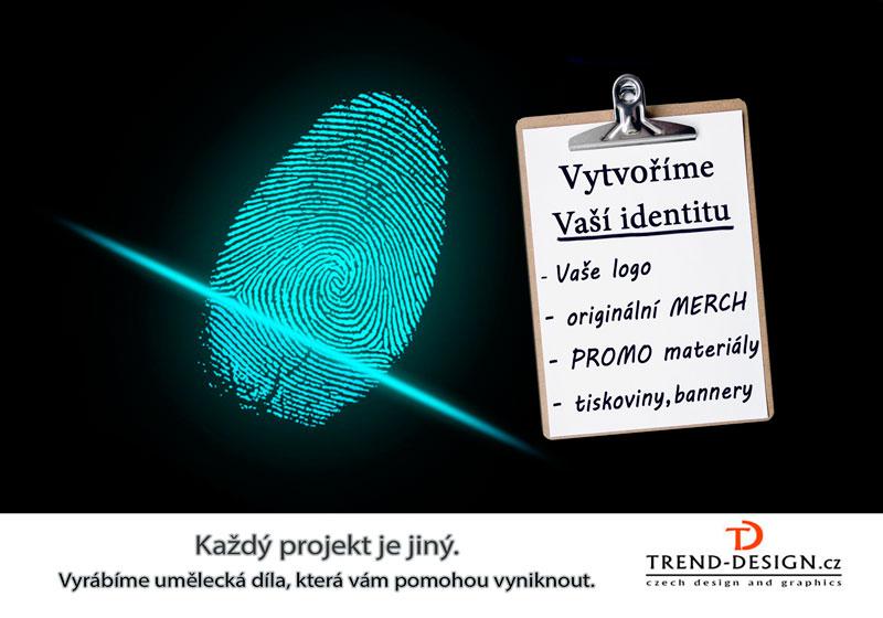 Vytváření Vaší identity