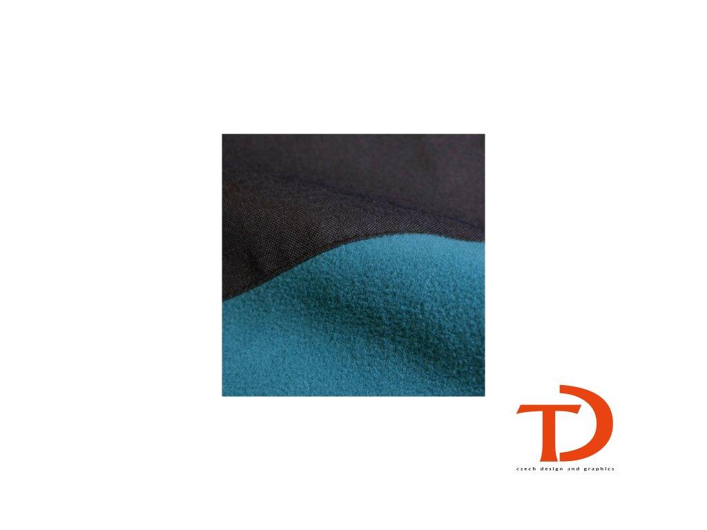 Effect Fleece unisex (Barva ebony gray, Velikost 3XL)