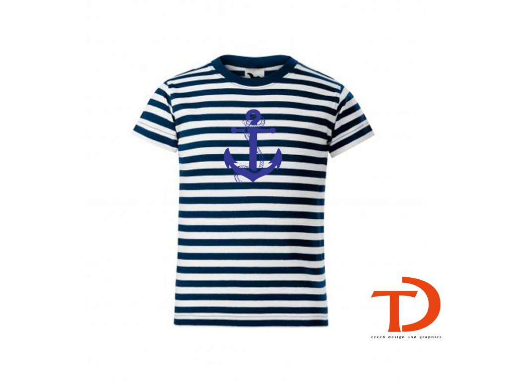 dětské námořnické triko chlapecké