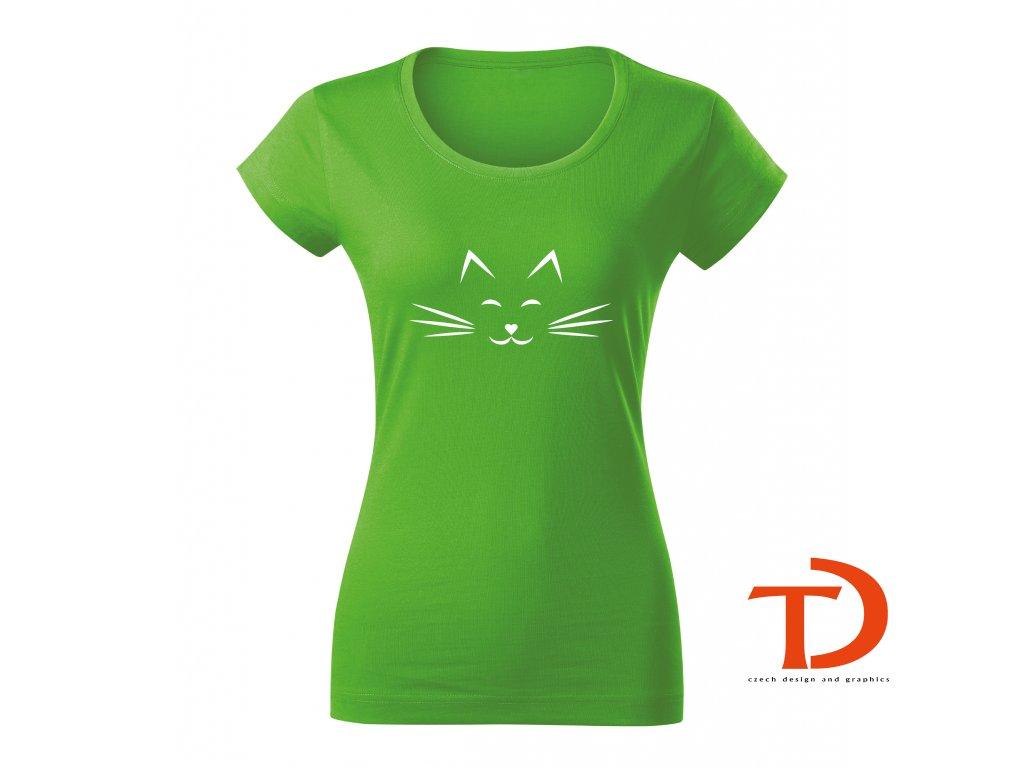 Dámské tričko kočička