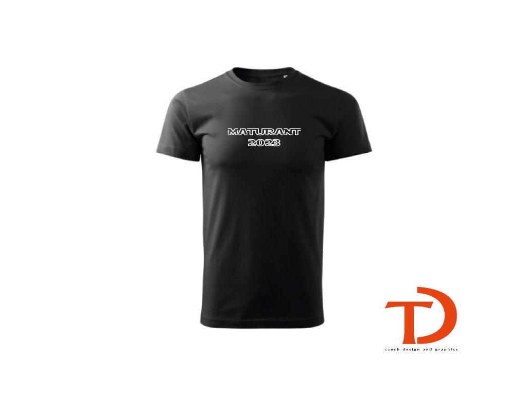 Tričko Maturant 2021 - pánské (Barva textilu Čokoládová, Velikost oblečení 2XL)