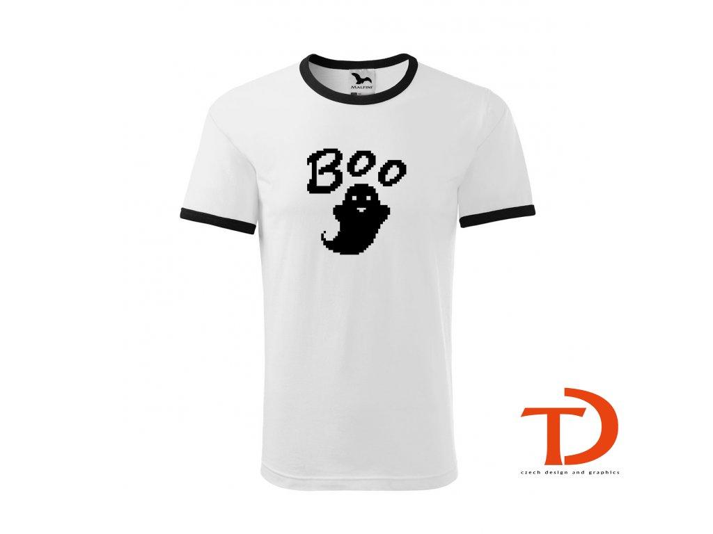 Dětské tričko DUCH Boo - Pixel Art