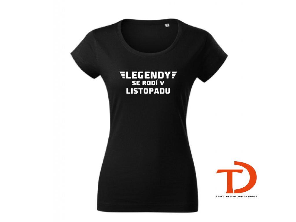 legendy se rodí v DÁMSKÉ černé